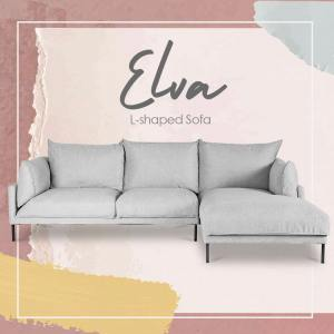 Elva L-Shaped Sofa