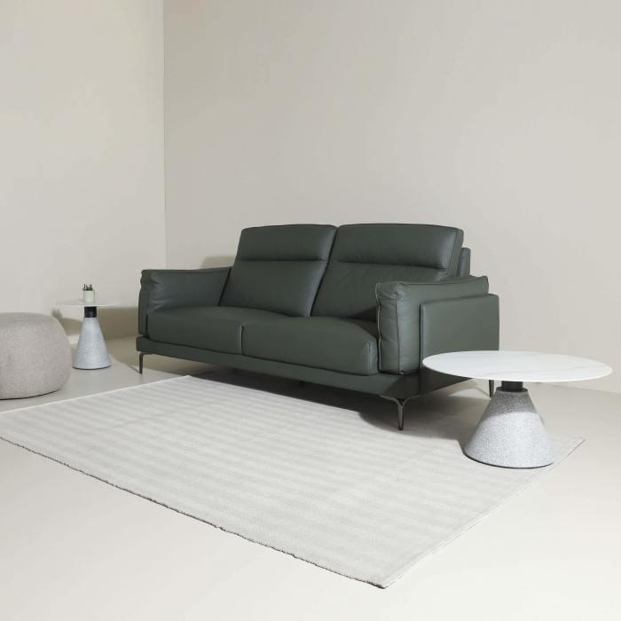 Evan 3-Seater Sofa - Half Leather
