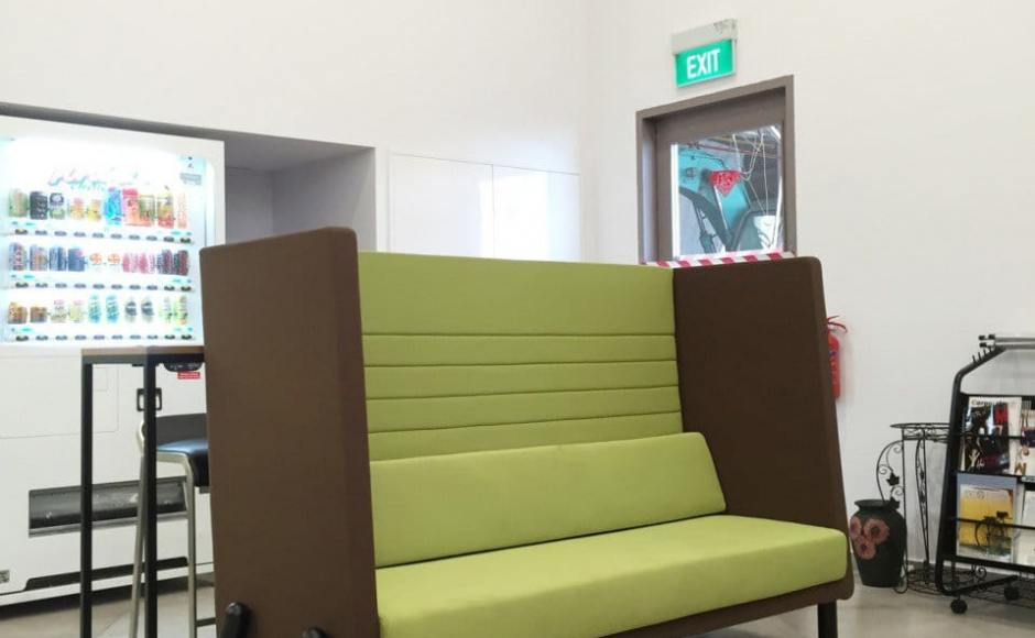 Wong Fong Engineering Works Pte Ltd - 79 Joo Koon Circle | Product Seen: [Helsa Sofa - Highback]<br />