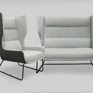 Houston 1–Seater Sofa – Highback