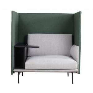 Kinpi 1–Seater Sofa with Tablet – Highback