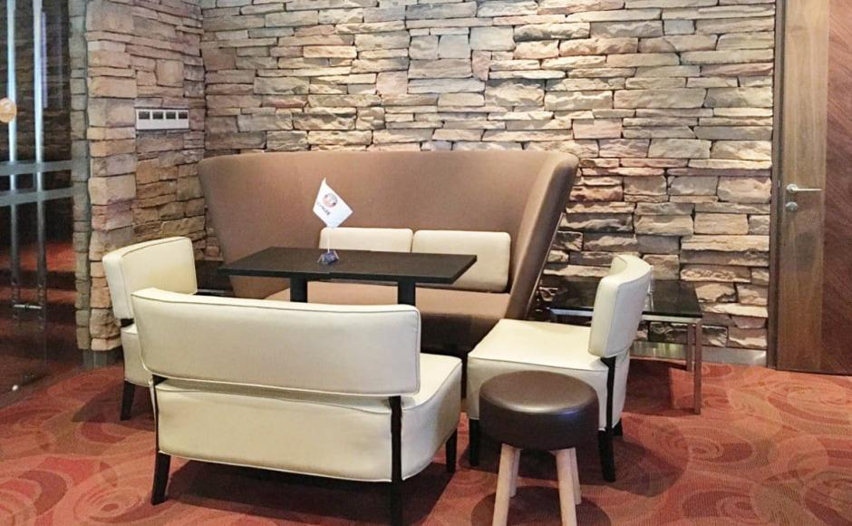 3Bars - Chinese Swimming Club | Products seen: [Private Sofa - Highback, Leopard 1 & 2-Seater Sofa, Tapioca Stool & Customised Table Top in Cosson Table Leg H730]<br />