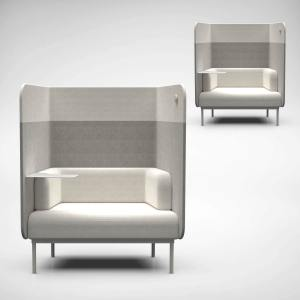 Sendai 1–Seater Sofa – Highback