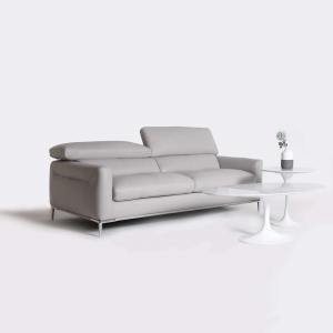 Wasato 3-Seater Sofa - Half Leather (Semi-Aniline) - Cat 13