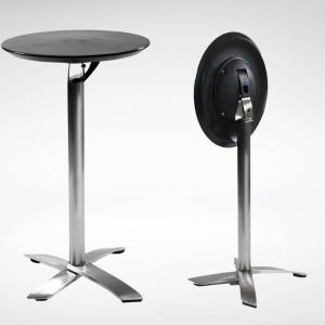 Alton Folding High Table – Round 600 (Nestable)