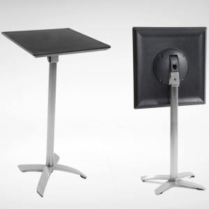 Alton Folding High Table - Sq700 (Nestable)