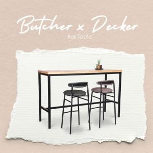 Butcher x Decker Bar Table – W1800