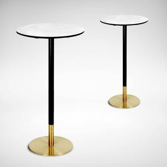 Ceramic + Gala Bar Table - Dia600