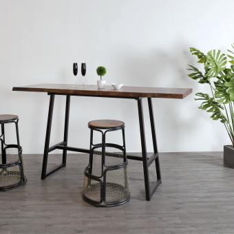 Walnut x Anderson Bar Table