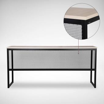 Bar Table with Mesh