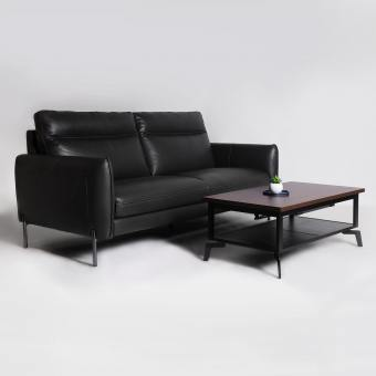 Karachi 3-Seater Sofa - Half Leather (Semi-Aniline) - Cat 15