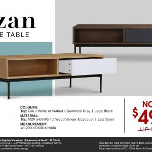 Azan Coffee Table - W1200