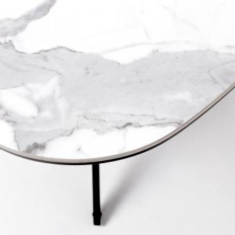 Molten Coffee Table – Faux Marble (Ceramic)