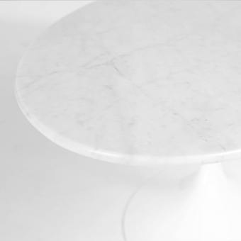 Tulip Coffee Table – Oval Marble (replica) – W1200