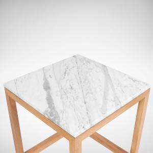 Zuppa - White Marble Coffee Table