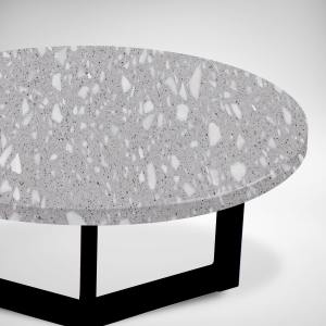 Terrazzo Plomo x Lola Coffee Table – Big