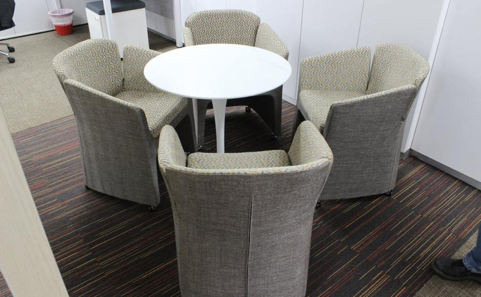 Ministry of Law - URA Centre | Products seen: [Flo-Castors & Megan Dining Table]<br />