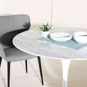 Tulip Dining Table-Round Marble (replica) – Dia1000