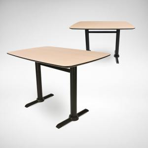 Boat x Filo H-Shaped – W1200 Dining Table