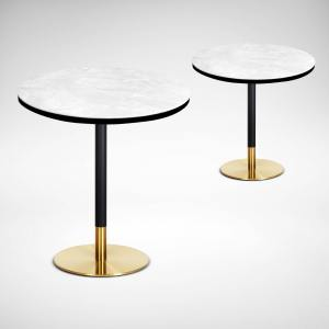 Ceramic + Gala Dining Table – Dia700
