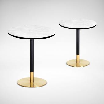 Ceramic + Gala Dining Table – Dia600