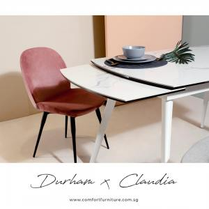 Durham Extendable Dining Table – W1200/1495/1790 (Ceramic)