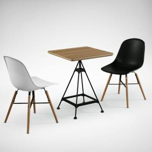 Evose Dining table – Square 600