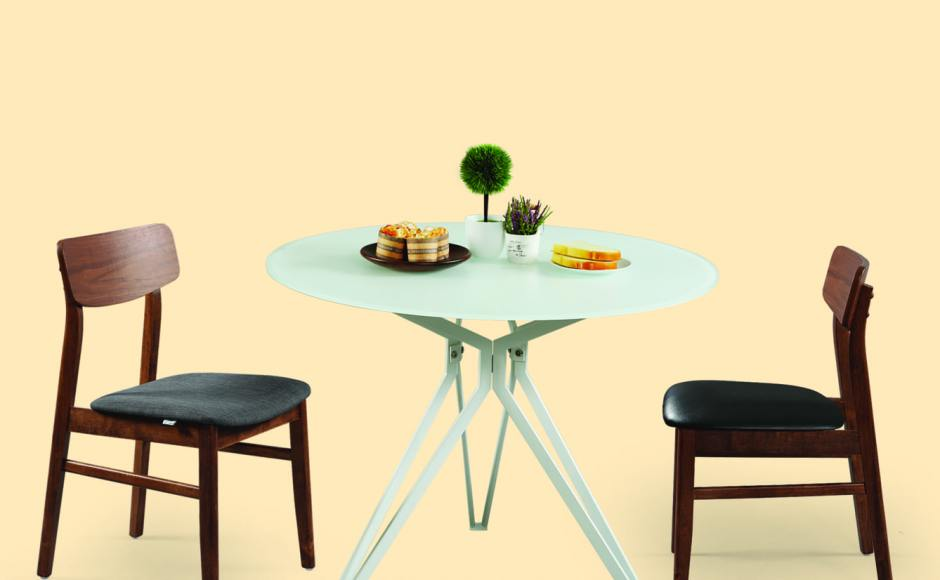 [Haley Dining Table – Dia1000 & Ottawa Chair]