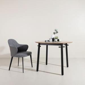 Strut Dining Table Dia1000 - Maple