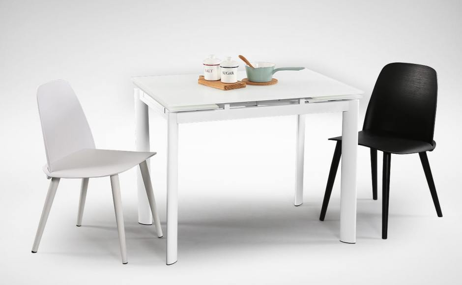[Vovo Extendable Table – W960/1195/1425 & Troy Chair]