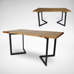 Walnut x Dart Dining Table – 2000