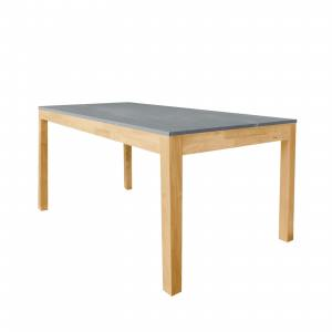 Sintered x Column Dining Table - W1600