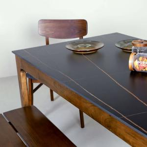 Sintered x Shiro Dining Table - W1200