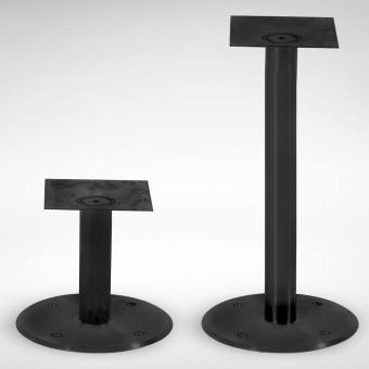 Flushed Table Base – Steel (for floor mounting)