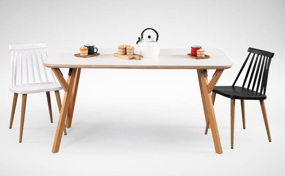[Hatsuro Dining Table 1500 & Choyu Armchair]
