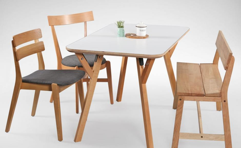 [Hatsuro Dining Table, Lisbon Chair, Minnen Chair & Kyoto Bench]