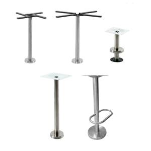 Mounty Table Base – Stainless Steel (for floor mounting)