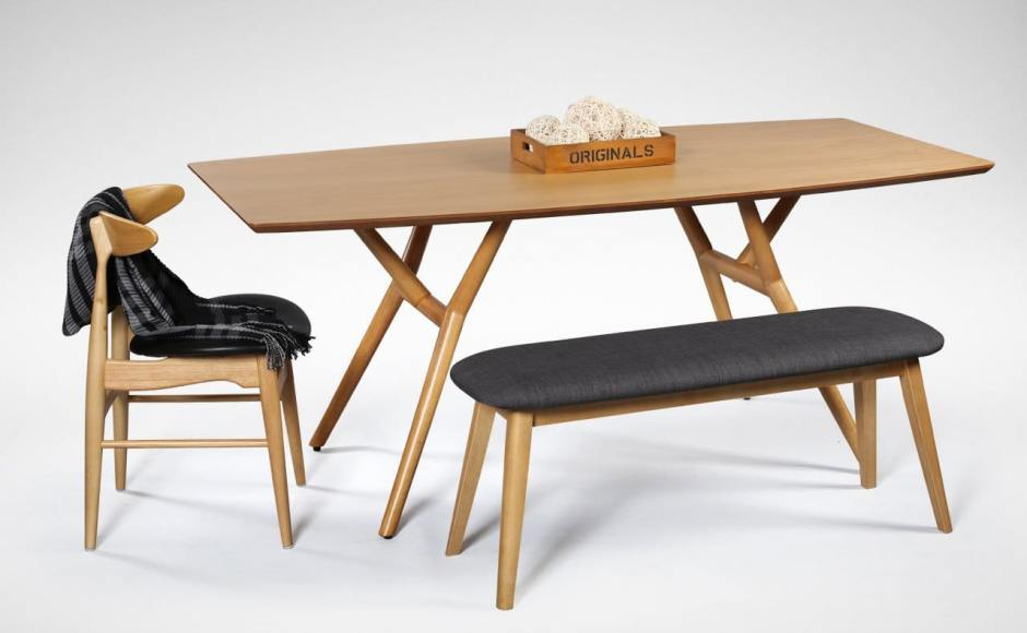 [Branch Dining Table, Hanoi Chair & Barett Bench]