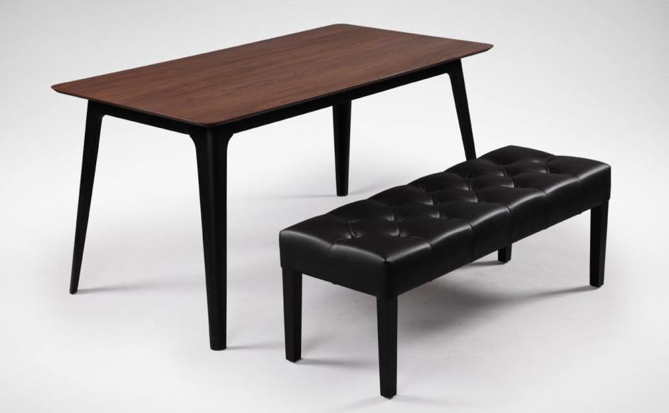 [Jilly Bench & Fuji Dining Table]<br />