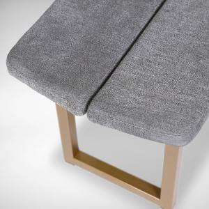 Haru Bench - Cushioned Seat/Ricky Metal Leg - W1100