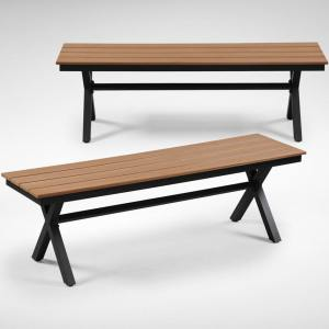 Fossil Outdoor Bench – No Back