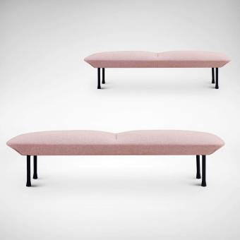 Soap 3-Seater Bench