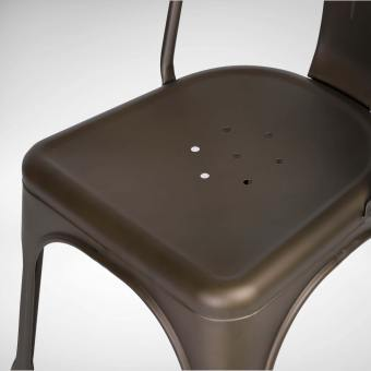 Alex Side Chair - Steel Seat