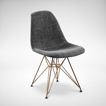 Argo – Half Fabric + Eiffel Gold Chair