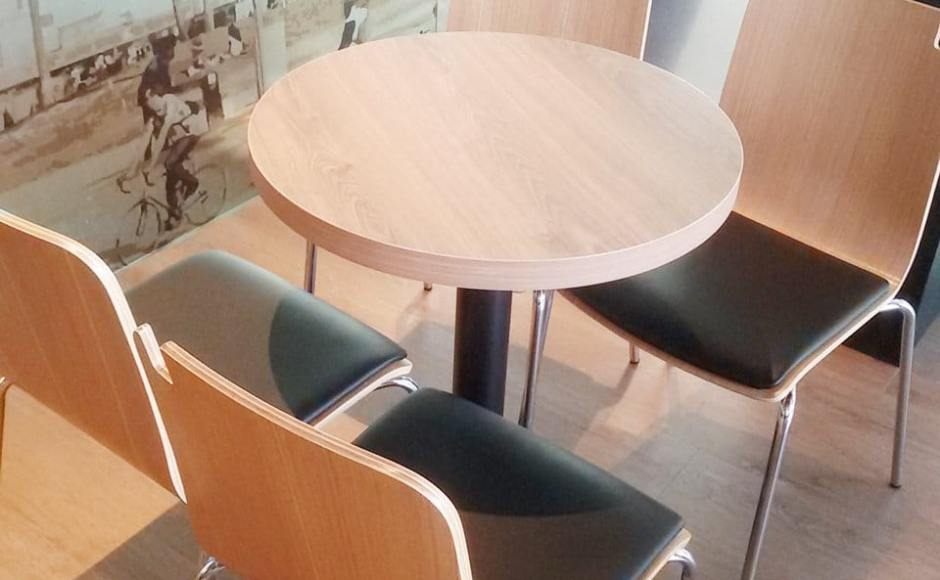 Coffee Bean - Marine Cove | Products seen: [Swiss Chair & Customised coffee table with Filo Table Base]<br />