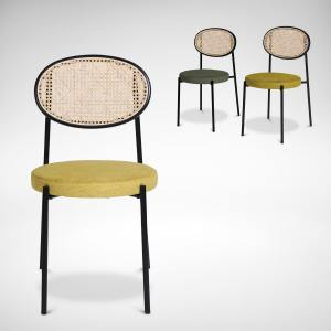 Drift Side Chair - Rattan Back