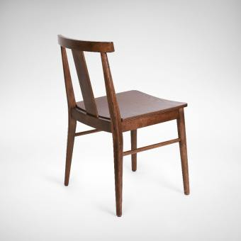 Ginza Side Chair - Light Walnut
