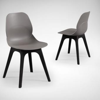 Gobi Side chair - Grey