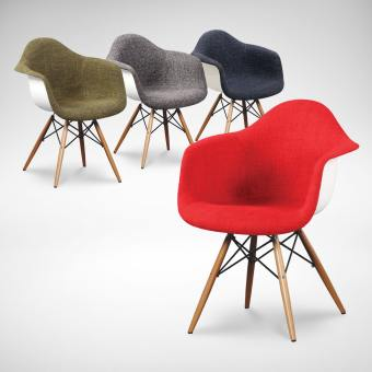 Gum – Half Fabric + Tower Arm chair
