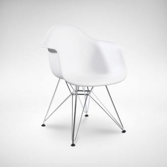 Gum – PP + Eiffel Chrome Arm chair